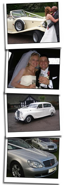 Wigan wedding car homepage graphic